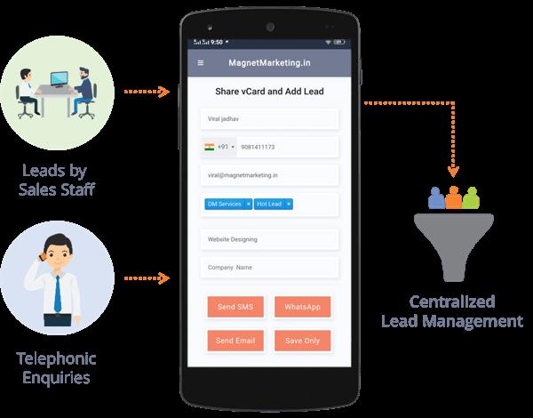 lead capture mobile app
